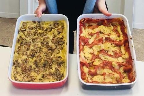 Vegan Lasagna & Timballo