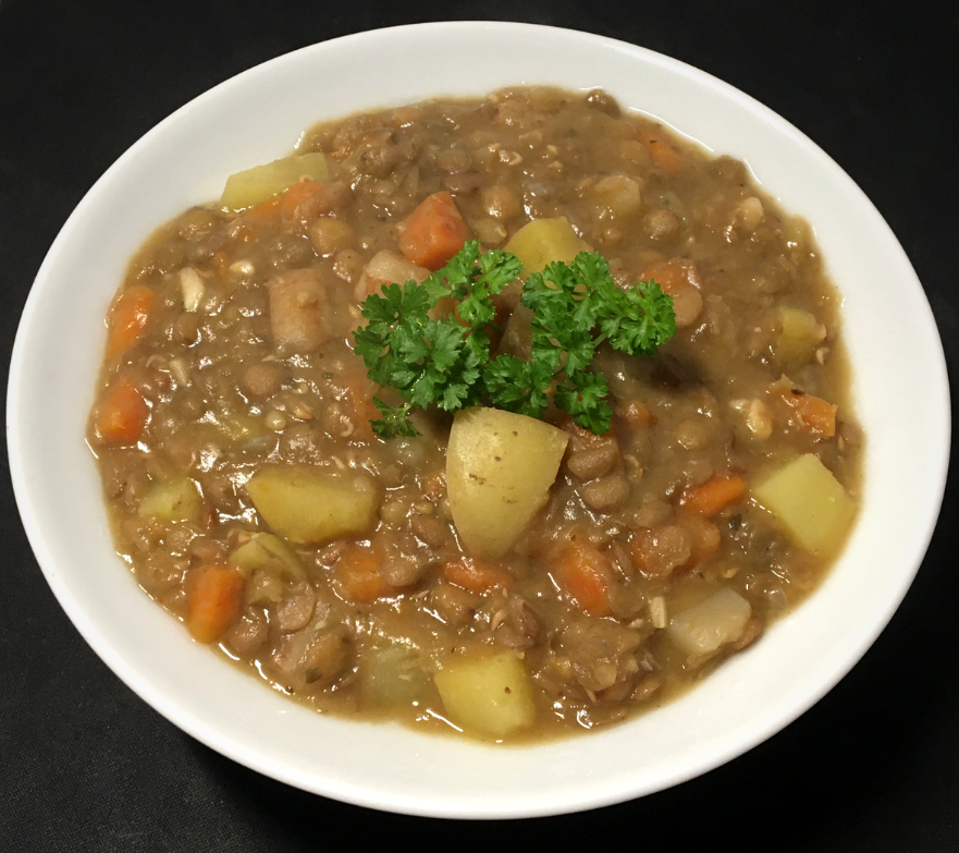 Vegan German Lentil Soup
