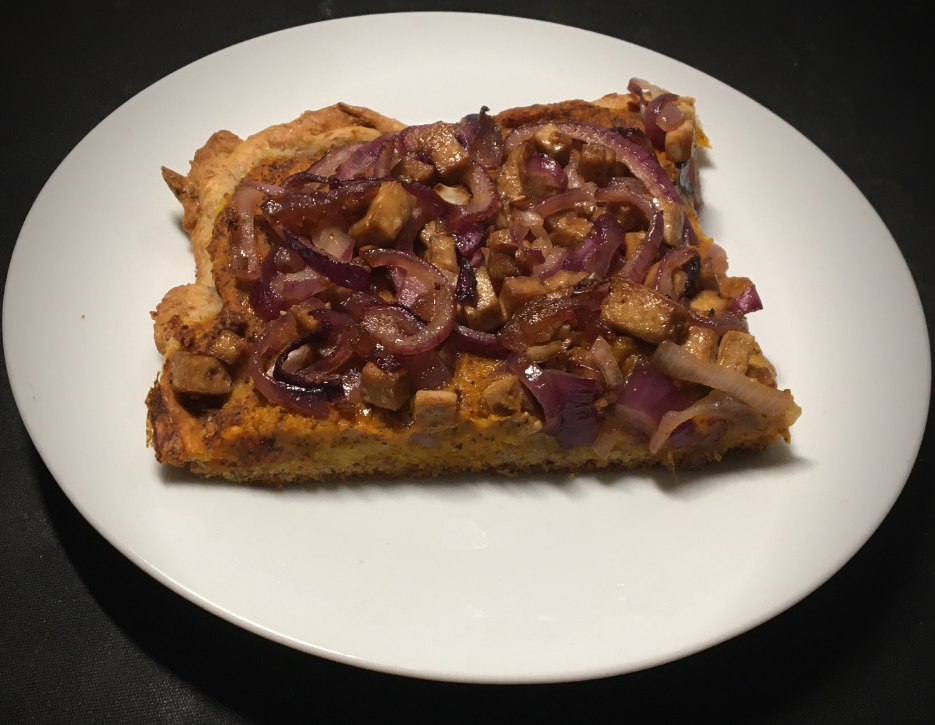 Pumpkin & Onion Tart